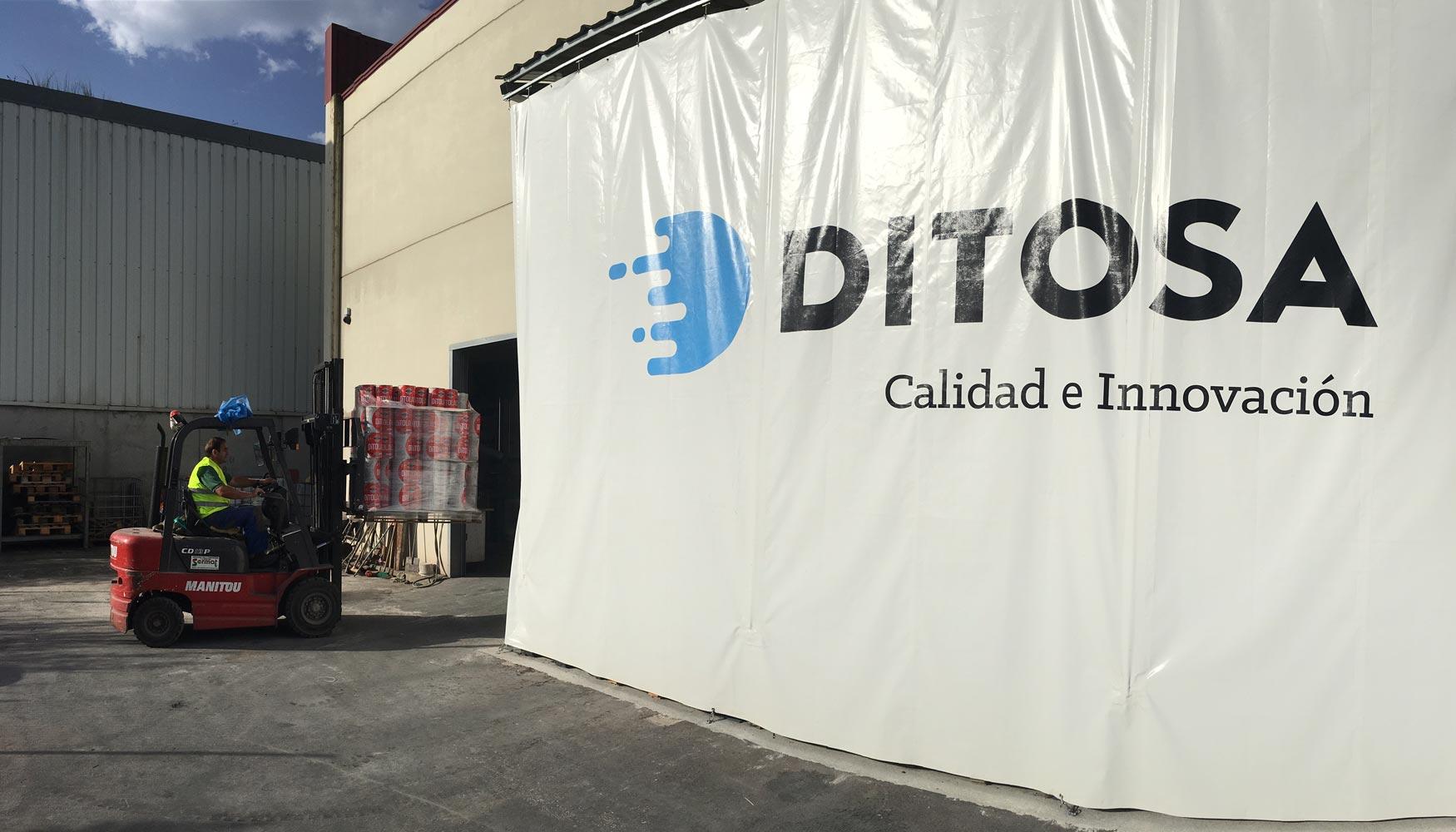 Instalaciones de Pinturas Ditosa en Barros de Buelna (Cantabria)