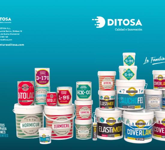 Portada del nuevo catálogo de productos Ditosa